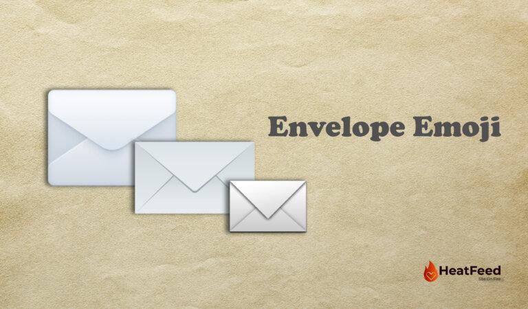✉️ Envelope Emoji