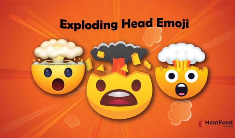 🤯 Exploding Head Emoji