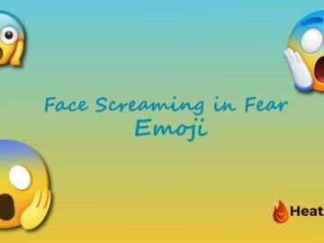 Face Screaming in Fear Emoji