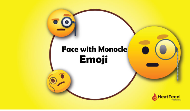 🧐 Face with Monocle Emoji