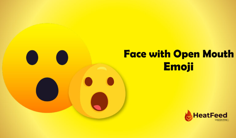 😮 Face with Open Mouth Emoji