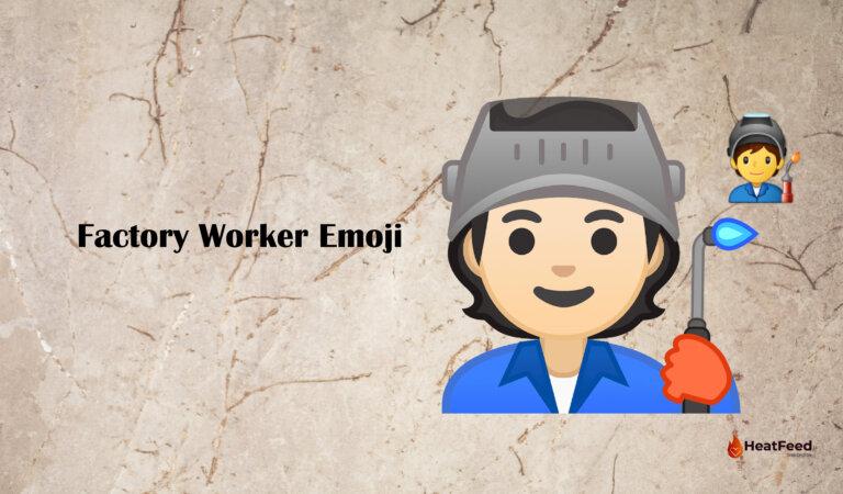 🧑🏭 Factory Worker Emoji