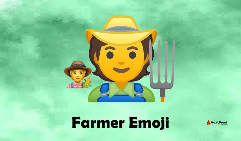 🧑🌾 Farmer Emoji