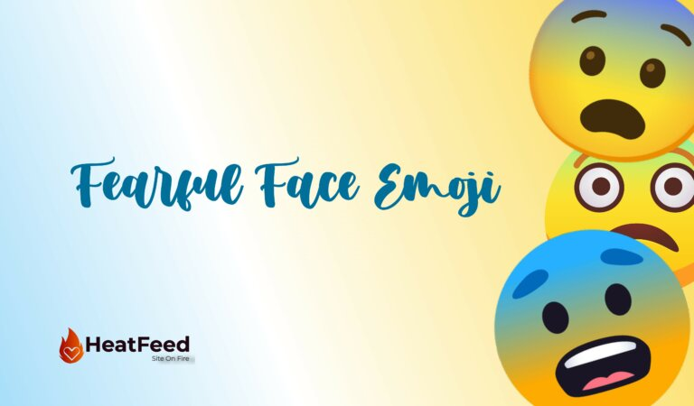 😨 Fearful Face Emoji