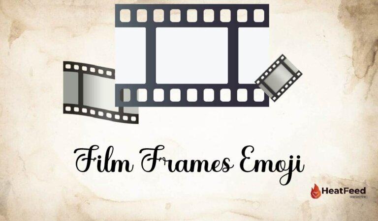 🎞️ Film Frames Emoji
