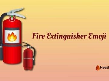 Fire extinguisher emoji