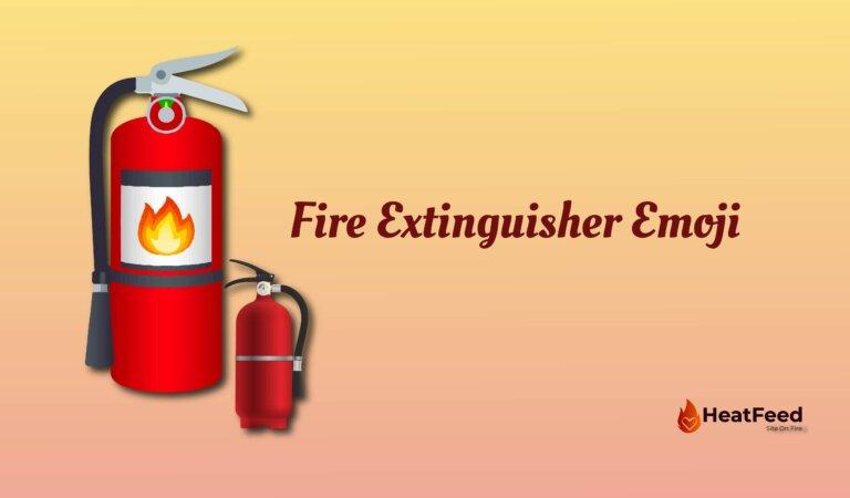 🧯 Fire Extinguisher Emoji
