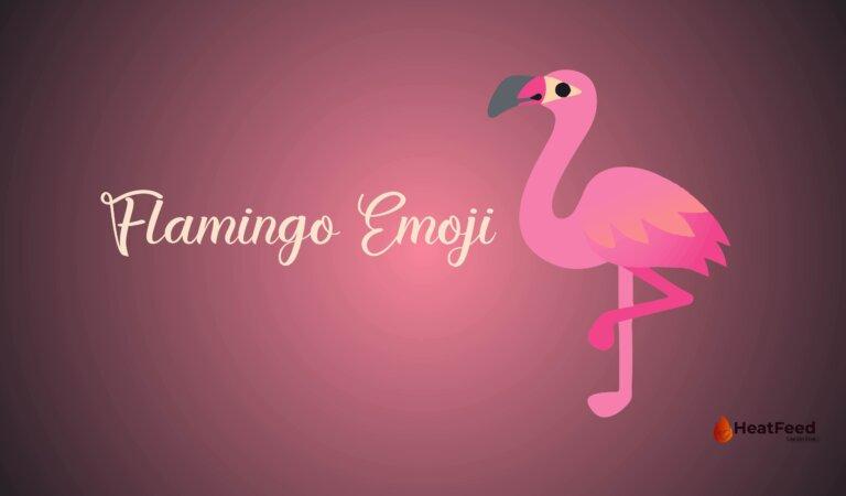 🦩 Flamingo Emoji