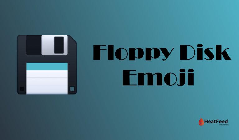 💾 Floppy Disk Emoji