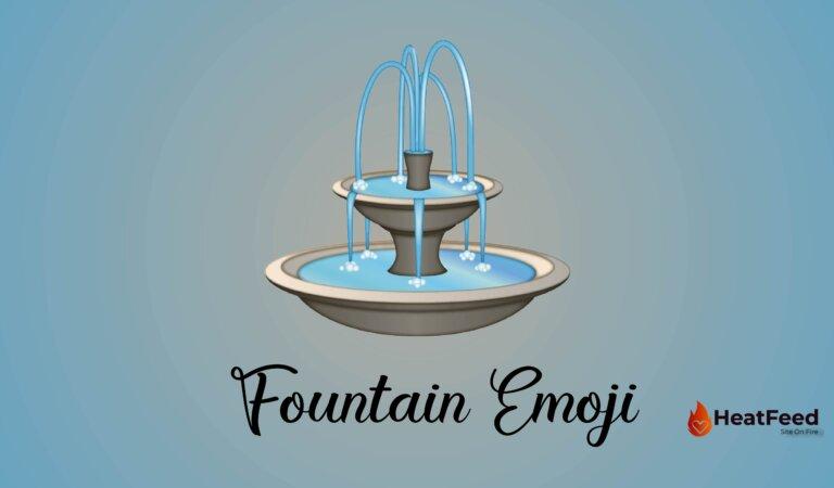 ⛲ Fountain Emoji
