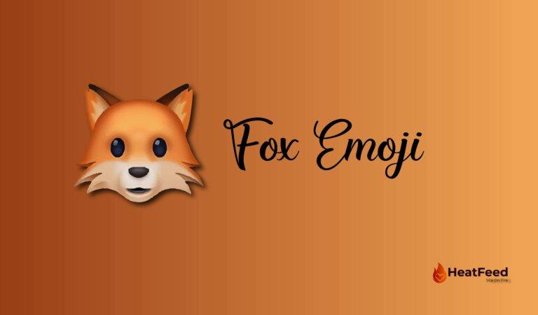 🦊 Fox Emoji