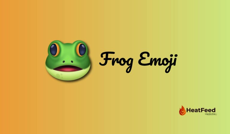 🐸 Frog Emoji
