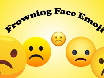 Frowning Face Emoji