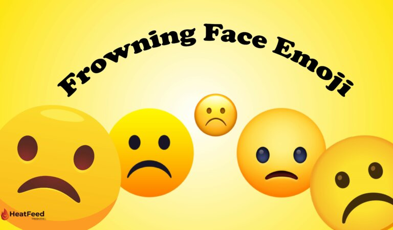 ☹️ Frowning Face Emoji