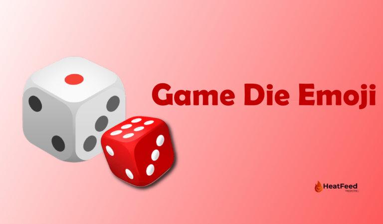 🎲 Game Die Emoji