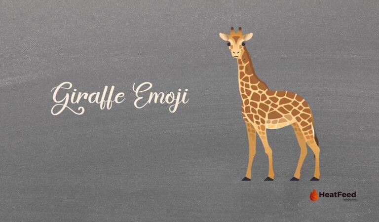 🦒 Giraffe Emoji