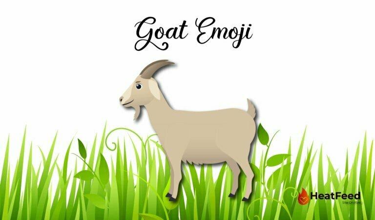 🐐 Goat Emoji