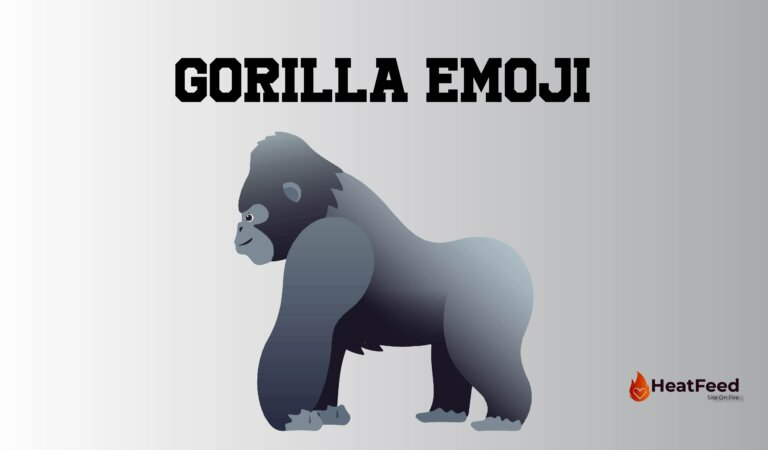 🦍 Gorilla Emoji