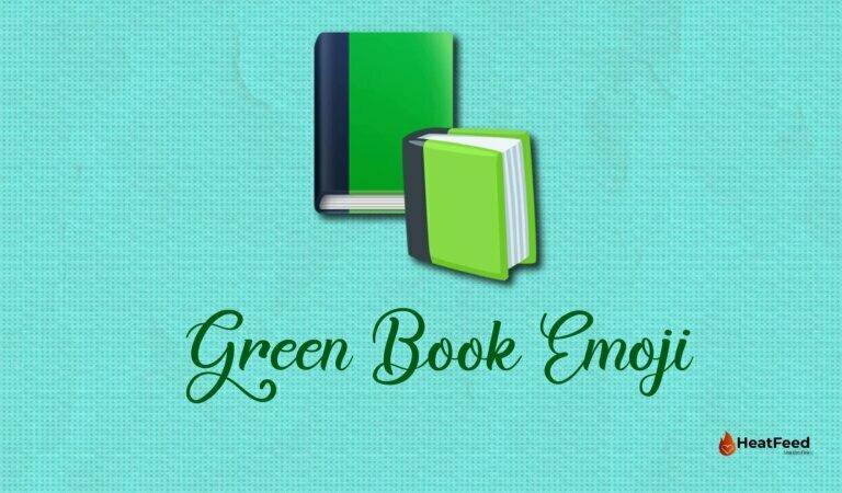 📗 Green Book  Emoji