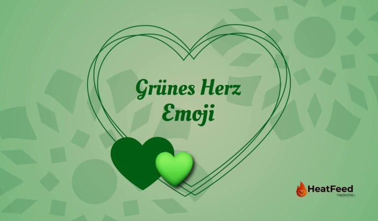💚 Grünes Herz Emoji