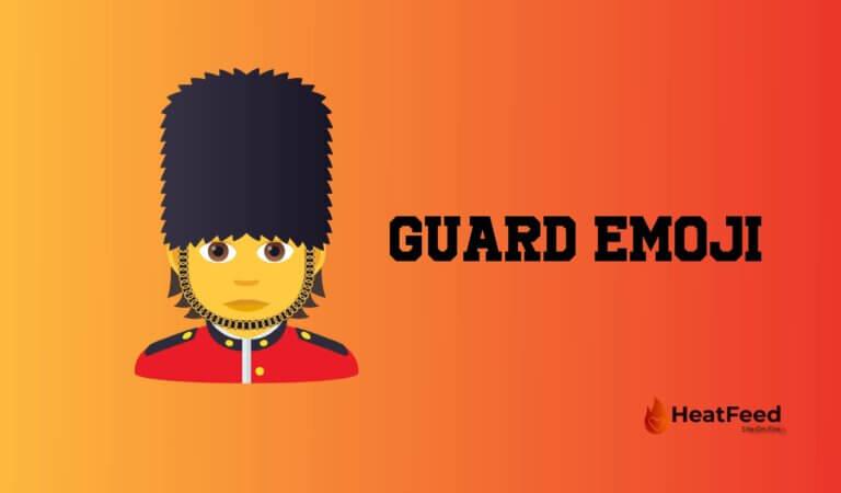 💂 Guard Emoji