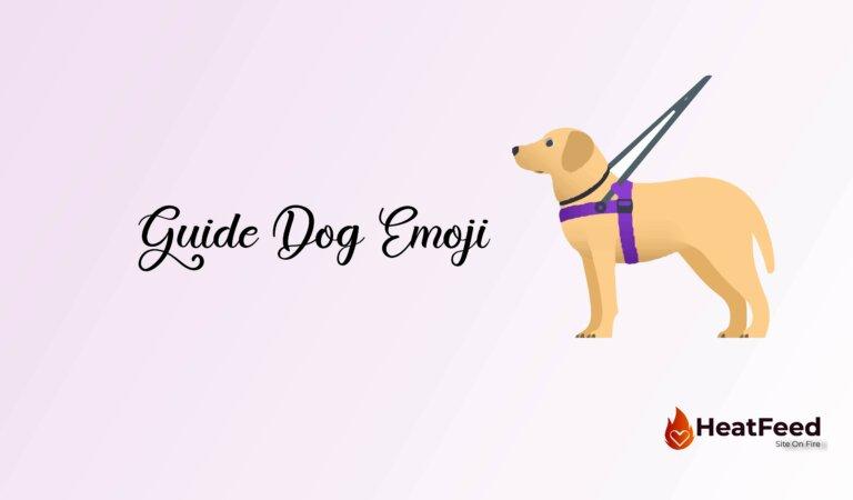 🦮 Guide Dog Emoji