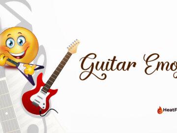 Guitar Emoji