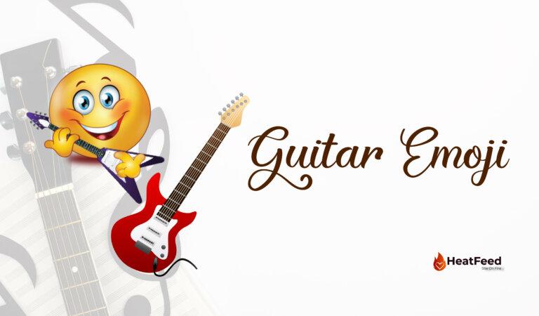 🎸 Guitar Emoji