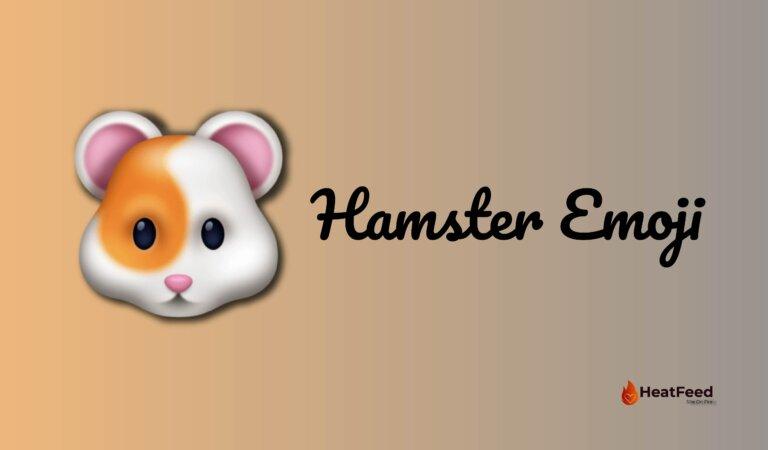 🐹 Hamster Emoji