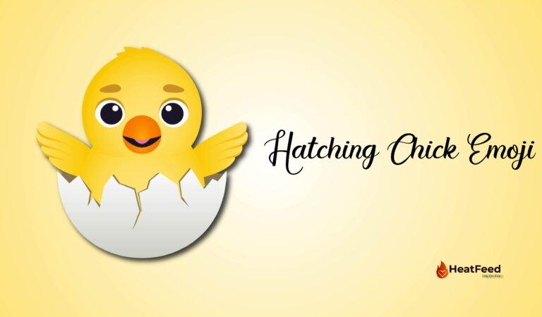🐣Hatching Chick Emoji