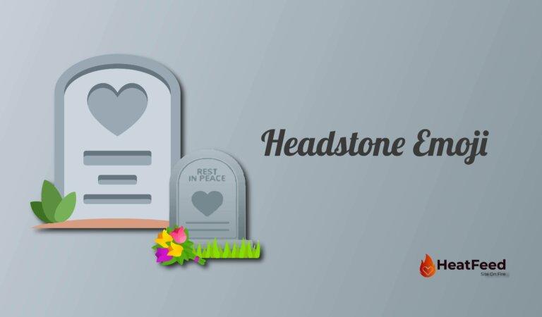  Headstone Emoji