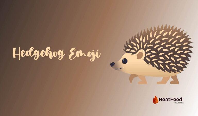 🦔 Hedgehog Emoji
