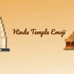 Hindu Temple Emoji