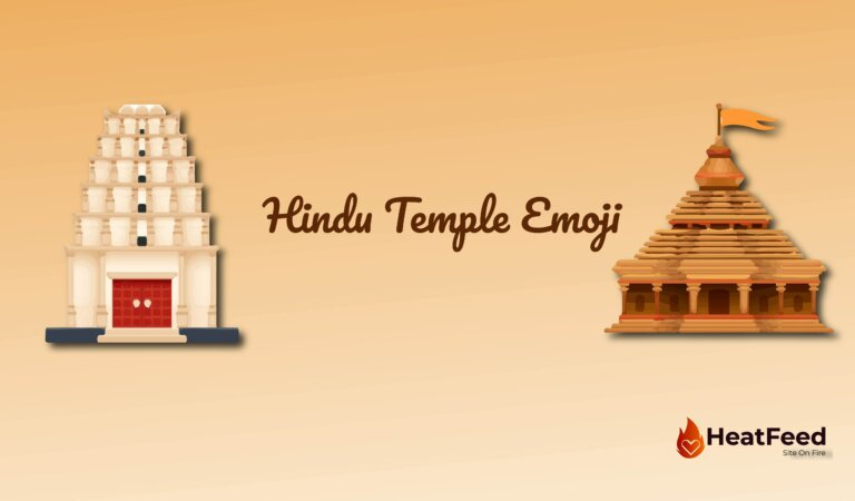 🛕 Hindu Temple Emoji