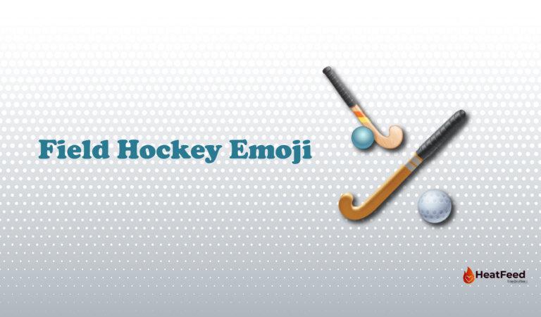 🏑 Field Hockey Emoji