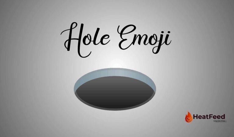 🕳️Hole Emoji