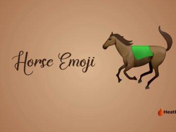 horse emoji