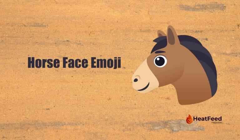 🐴 Horse Face Emoji