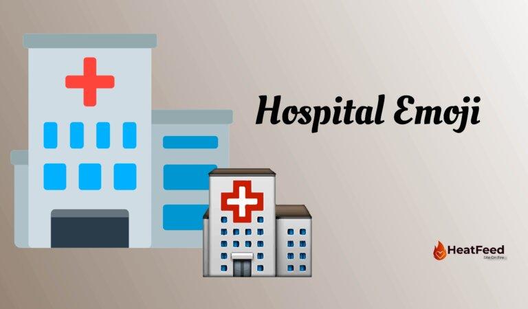 🏥 Hospital Emoji