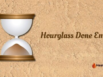 Hourglass done emoji