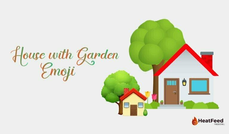 🏡 House with Garden Emoji