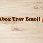 inbox tray emoji