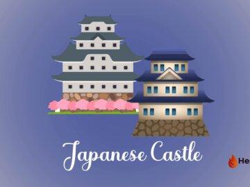 Japanese Castle Emoji