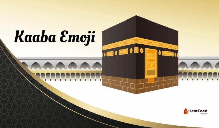 🕋 Kaaba Emoji