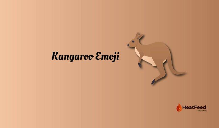 🦘 Kangaroo Emoji