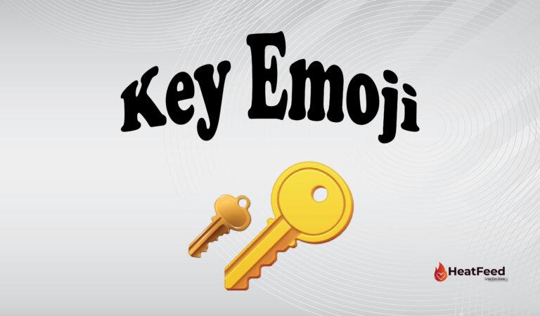 🔑 Key Emoji
