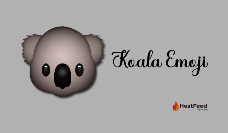 🐨 Koala Emoji