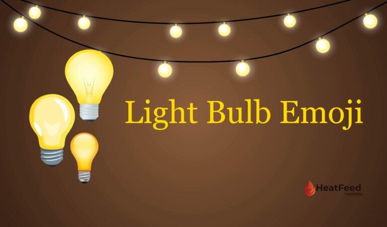 💡 Light Bulb Emoji