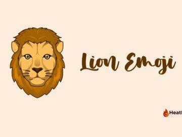 lion emoji