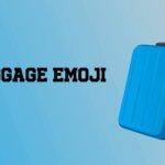 luggage emoji